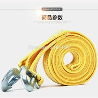 Wholesale Car trailer line tons of vehicle traction rope article meters trailer cart rope off road Drive save your necessary