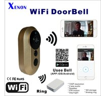 bell view - WiFi DoorBell built in IR Cut MicroPhone Two way Audio Day and night waterproof Bell IOS Android viewing