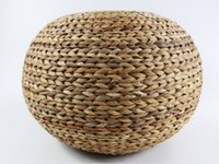 Wholesale Vintage ball cushion rustic floor cushion floor pouf straw pouf Valentines Day pouf ottoman Kids gift Yoga IKEA wedding gift Country decor