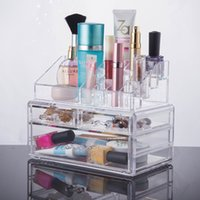 Sundries best choice displays - 2016 New Acrylic beauty makeup organizer Clear case makeup Display Box cosmetic organizer YOUR BEST CHOICE