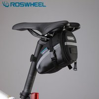 bicycle saddle baskets - icycle Accessories Bicycle Bags Panniers ROSWHEEL bicycle saddle rear seat bag bycicle cycling accessories basket cycle bags for bike pan