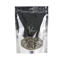 aluminum window locks - 100 x19cm Stand Up Zip Lock Bags Heat Seal Packaging Bag Ziplock Aluminum Foil Bag With Window