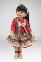american made dolls - Straight Hair American Girl Doll Made Of Full Vinyl About inch Lifelike Reborn Babies Boneca Toys For Children s Best Playmate