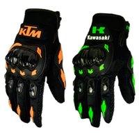 Wholesale Full Finger Kawasaki Motorcycle gloves Motocicleta Motocross luvas ktm guantes moto gants moto gloves for motorcycle