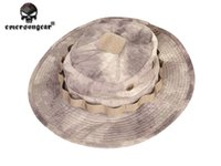 Wholesale Tactical Airsoft Sniper Boonie Hat Camouflage Nepalese Cap Army Mens Military Accessories Hiking A tacs EM8534