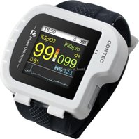 best value watches - best item new arrival Watch style pulse oximeter With display PR PI SpO2 value pulse oxygen saturation with oximeter probe CMS50I