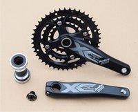 axle sets - high quality integrated T T T chainring crankset speed s hollow MTB bike crank set M590 mountain bike chainwheel axle
