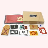 Wholesale New Arrival SECRET HITLER Games previously elected NEW president chancellor Card Kickstarter Edition Board Game Party cards interesting game