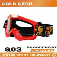 Wholesale motorcycle Glasses SCOYCO G03 motocross off road goggles equipment dirt bike snowboard ski gafas motocicleta cascos para moto