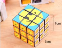 Wholesale Colorful Magic Cube Super Smile x7x7 Square Toy Megaminx Magic Cube Brand New And Good Quality