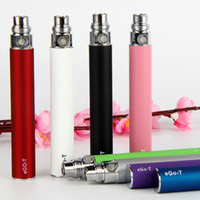 Wholesale E Cigarette Ego T battery mah colorful for ego thread CE4 MT3 H2 vape Atomizer cartomizer vaporizer e cig ecig cigs