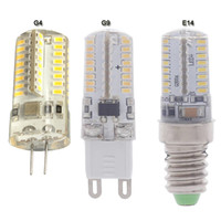 ac dc body - 5X E14 G4 G9 mini led bulb w silicone body corn light ac v v dc ac volt high brightness bulbs lamp