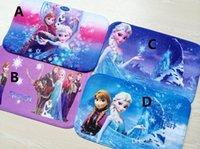 Wholesale Freeze mat Doormat Bathroom Coral velvet mats kid arpet Romance cartoon non slip mat