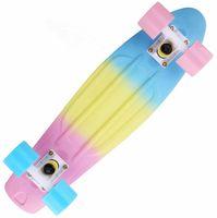 Wholesale L Three color rainbow fish banana plate peny new skateboarding roller waveboard skateboard skate board