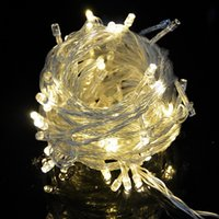 ac windows - 2016 meter LEDs String Fairy Wedding Led Lights for Home Garden Holiday Party Outdoor Wall Bathroom Curtains Window Deco Fedex