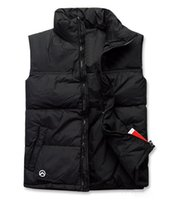 Wholesale 2016 new winter fashion casual Men s vest down vest women down vest red Splice men s Outerwear