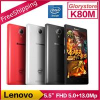 atom mobile phone - Original Lenovo K8 K80M Prime Mobile Phone Intel Atom Z3560 Quad Core G FDD LTE inch FHD G RAM G ROM NFC New Arrival IN STOCK