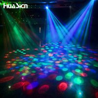 Wholesale Fashion LED Lamp E27 Moving Head Stage Lighting Laser Crystal Auto Rotating RGB LED Par DJ Controller disco ball party light