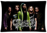 armada band - The crimson armada Band Members Style Passion Custom Zippered Rectangle Pillowcases Pillow Cover Cases Size x30inch Two sides U2