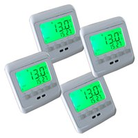 Wholesale Programmable Temperature Controllers Room Thermostats Electric Floor Heating Thermostat with Green LCD Display