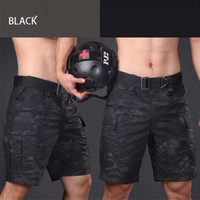 Wholesale Designer Outdoor Mens Camping Shorts Camouflage Cotton Polyester Military Style Hiking Shorts Casual Adjustable Shorts for Men
