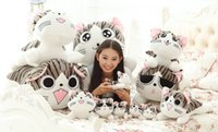 Sweet Home плюш Cat Kitten игрушки куклы Подушка Свадебный подарок на день рождения для девочек 20 см