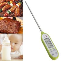 Wholesale Pen style Digital Cooking Food Probe Meat Kitchen BBQ Selectable Thermometer H210307