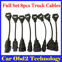 Wholesale Best Price Full Set Of Truck Cables For TCS CDP PRO CDP Scanner OBD2 Diagnostic Cables Truck Cables