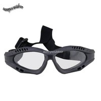 Wholesale Outdoor CS Sports Glasses Hunting Shooting Protection Gear Paintball Shooting Equipment Paintbll shooting Tactical PC Goggles
