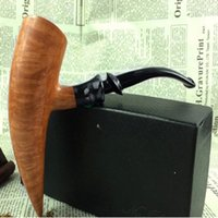 Cheap Newest All manual Briar Bruyere pipe High-grade Flame pattern pipe unparalleled Free Type Dignity symbol Bullish Collectors necessary DHL