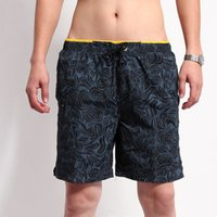 Wholesale Outdoor Summer Casual Beach Quick drying Lace up Board Shorts Fashion Loose Swimwear Boxers Y901