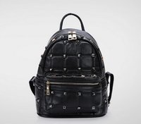 Wholesale 2016 summer fashion leather backpack for ladies