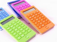 Wholesale 5 color children student School Suppliers Calculator Accountant Office Calculate Scientific cute lovely Calculator