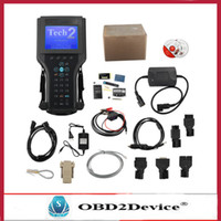 Wholesale DHL Free Tech2 Diagnostic Scanner for g m SAAB OPEL SUZUKI ISUZU Holden with TIS2000 Software Full Package without Carrying Case