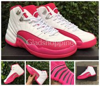 basketball wholesaler - 2016 Retro GS Dynamic Pink Valentines day Perfect Women Basketball Shoes Sneakers Cheap s Pink White Shoes Top Quality