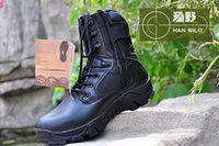 Wholesale 2016 Delta Tactical Boots Military Desert Combat Army Combat Shoes Breathable Tactical Army Boots winter
