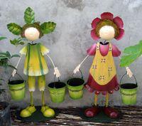 Wholesale Iron Garden Figures CM