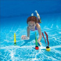 Wholesale New Arrival Brand INTEX Underwater Swimming Ribbons Diving Pool Bathing Seaweed Toys Sinking Water Sport Fun Balls for Kids Children