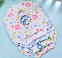 baby bibs manufacturers - Baby waterproof bibs cotton sling baby bibs children s bunk scarves manufacturers Spot