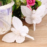 Wholesale 2pcs Beautiful Resin Angel Shape Garland Wedding Party Curtain Decoration