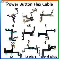 Wholesale Original for iPhone G S Plus s s plus Power Button Volume Mute Button Flex Cable Metal Brackets