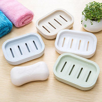 Wholesale 2016 NEW Japanese Fresh Soap Box Plastic Drain Hand Soap Thicken Creative Travel Soap Box