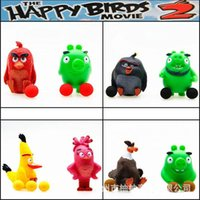 Wholesale Angry Birds Action Figures a spray bomb Spray function Children Toys Birds Spray bomb
