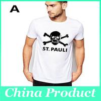 Homens t de alta dos homens da qualidade camisola camisetas t-shirt ocasional dos homens camisa selvagem t ajuste fino pescoço manga curta Grupo T shirt