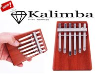 Wholesale Muse Portable Key Kalimba Mbira Likembe Sanza Finger Thumb Piano Rosewood Musical Instrument Pocket Piano Gifts