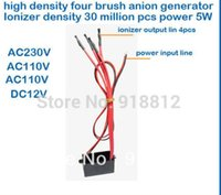 Wholesale anion generator output million high density brush Negative ion Generator DC5V air purifier for home ionizer