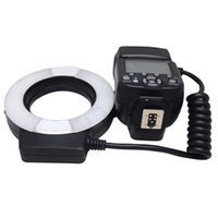 adapter for canon - Mcoplus MCO EXTC K Macro TTL Ring Flash for Canon with LED AF Assist Lamp and mm mm mm mm mm mm mm Metal Adapter Ring