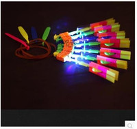 Wholesale 400PCS EMS Amazing Arrow Helicopter Light Up Flying Arrow New Product New Toy Lowest Price New Toy HY572