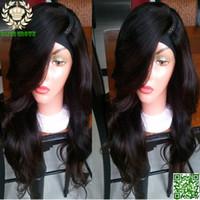 Wholesale Body Wave Glueless U Part Human Hair Wigs Brazilian Human Hair Upart Wig Left Side U Shaped Wigs