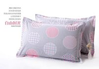Wholesale set of brand twill simple article standard mens Pillow Case pillowcases
